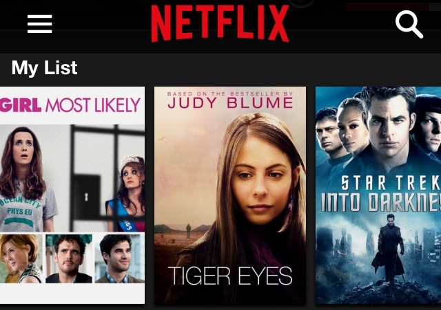 how to change my list on netflix